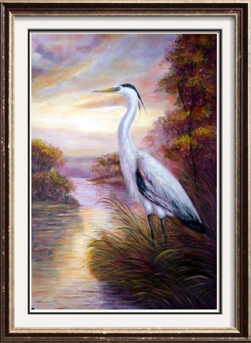 MP Elliott Fantastic Marsh Egret Realism Colorful - 4
