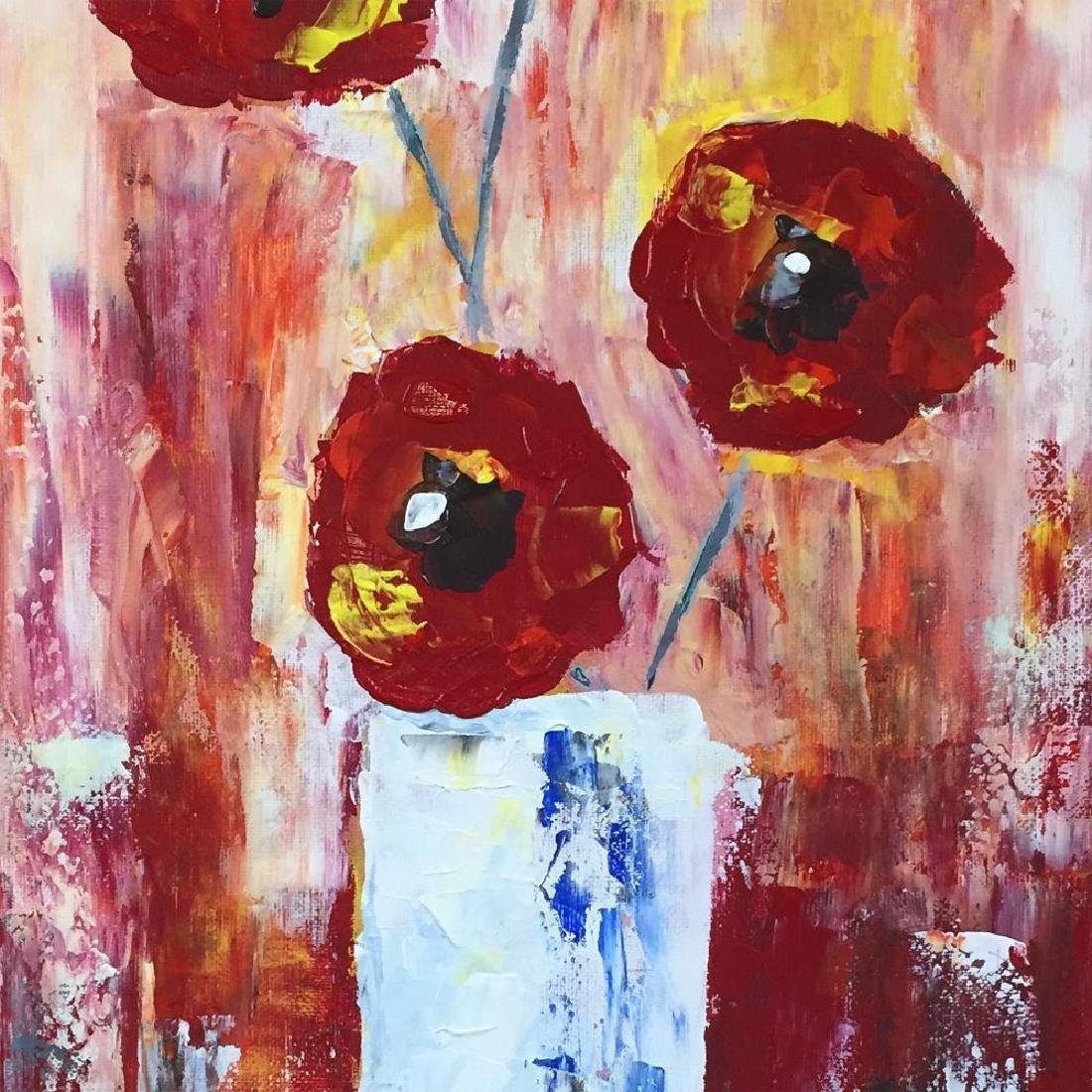 Fantastic Colorful Thick Texture Bold Floral Original - 3