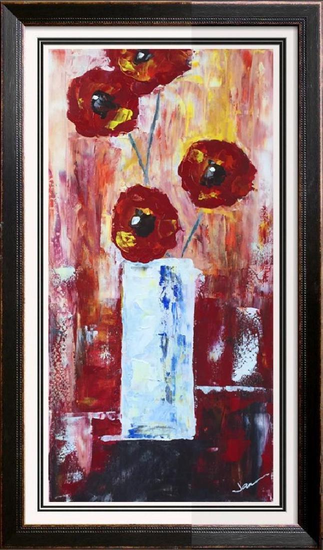 Fantastic Colorful Thick Texture Bold Floral Original - 4