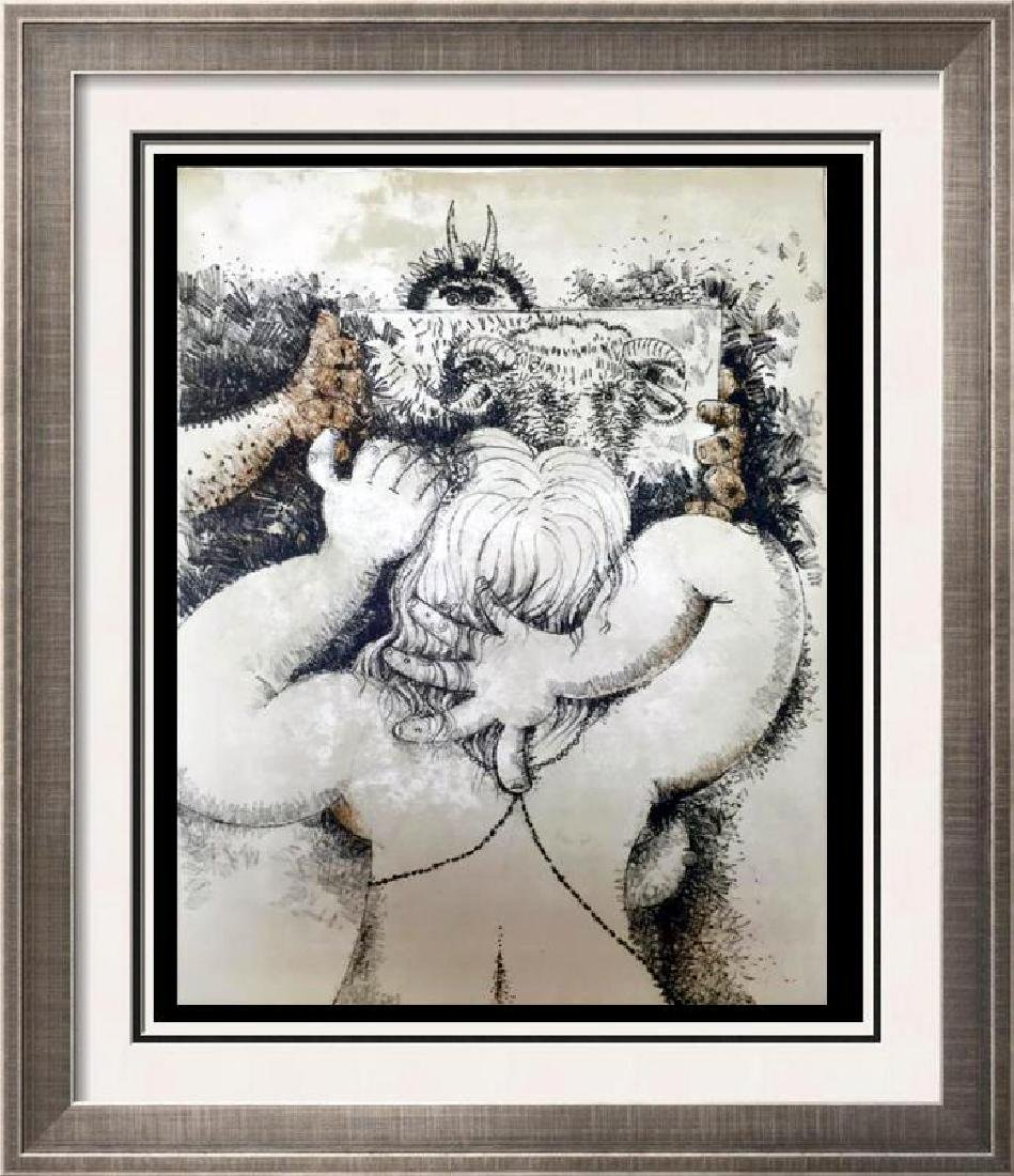 Federico Richi Plate Four The Art of Love c.1970