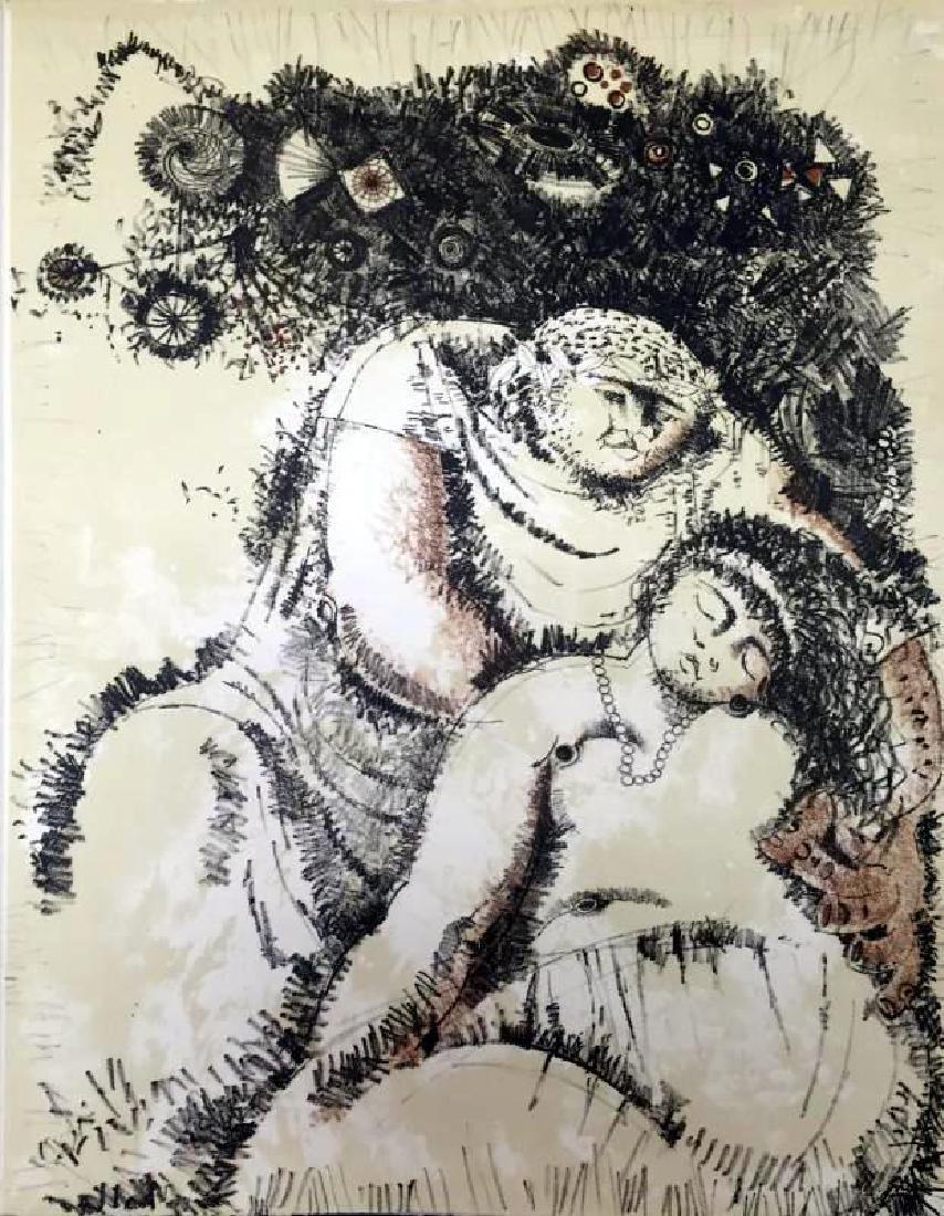 Federico Richi Plate Eight The Art of Love c.1970 - 2