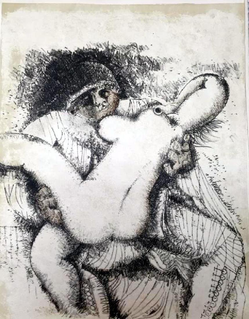 Federico Richi Plate Nine The Art of Love c.1970 - 2