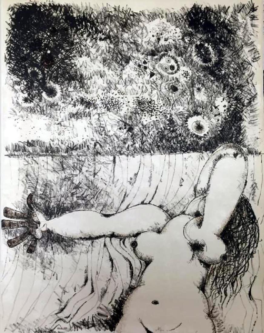 Federico Richi Plate Thirteen The Art of Love c.1970 - 2