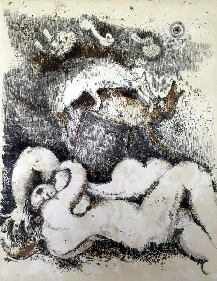 Federico Richi Plate Fourteen The Art of Love c.1970 - 2