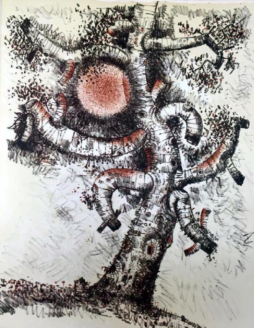 Federico Richi Plate Seventeen  The Art of Love c.1970 - 2