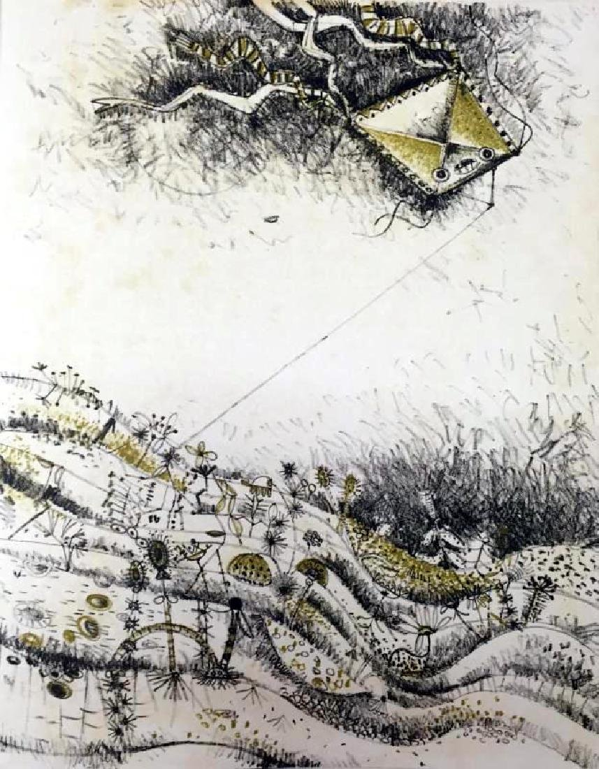 Federico Richi Plate Twenty-One The Art of Love c.1970 - 2