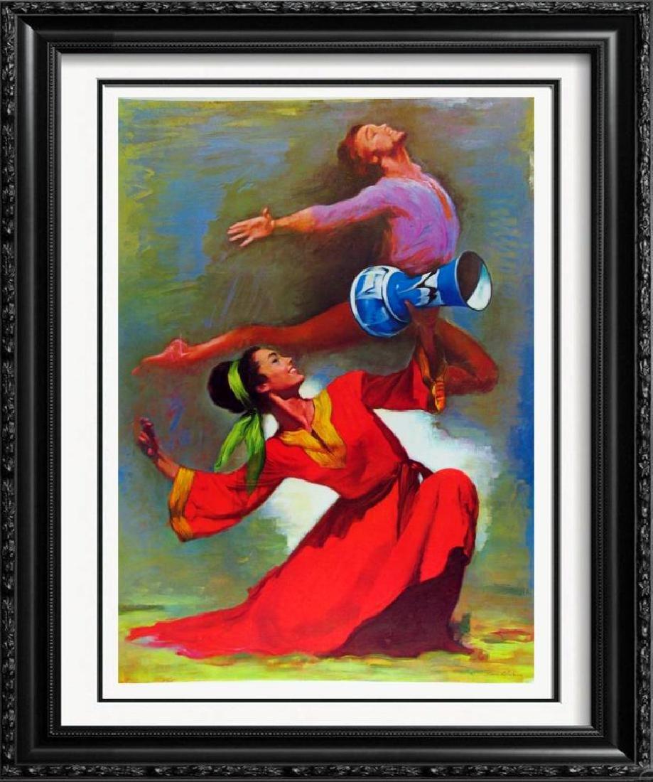 Dancers Lieberman Colorful Limited Edition Art