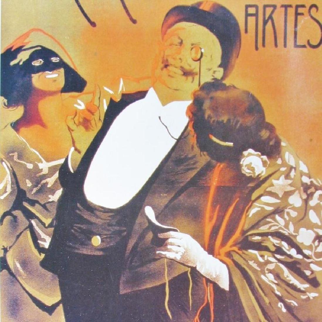 Plate Signed C. Vergez Circulo De Belias Artes - 3