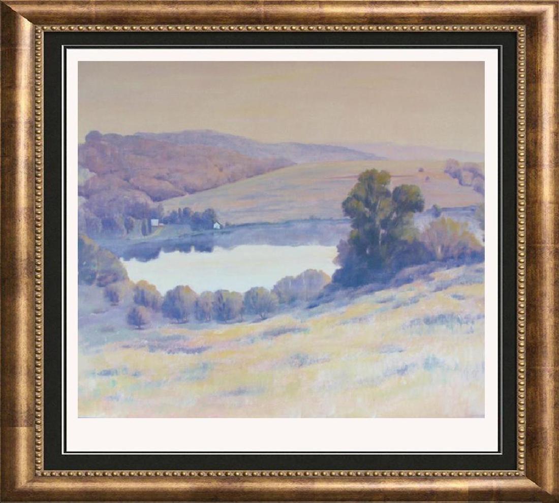 Ciarrochi Signed In Plate Mountain Landscape