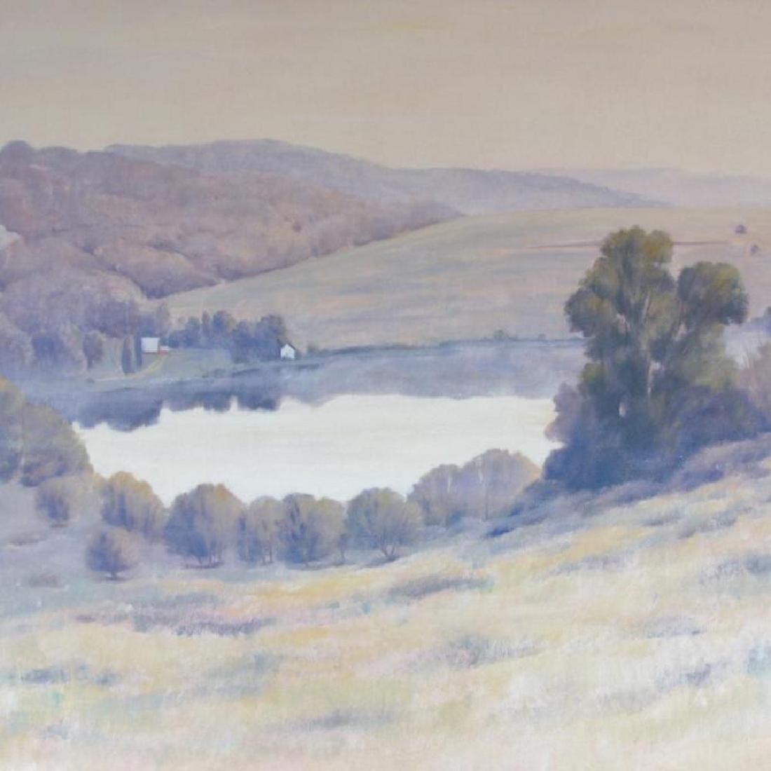Ciarrochi Signed In Plate Mountain Landscape - 2