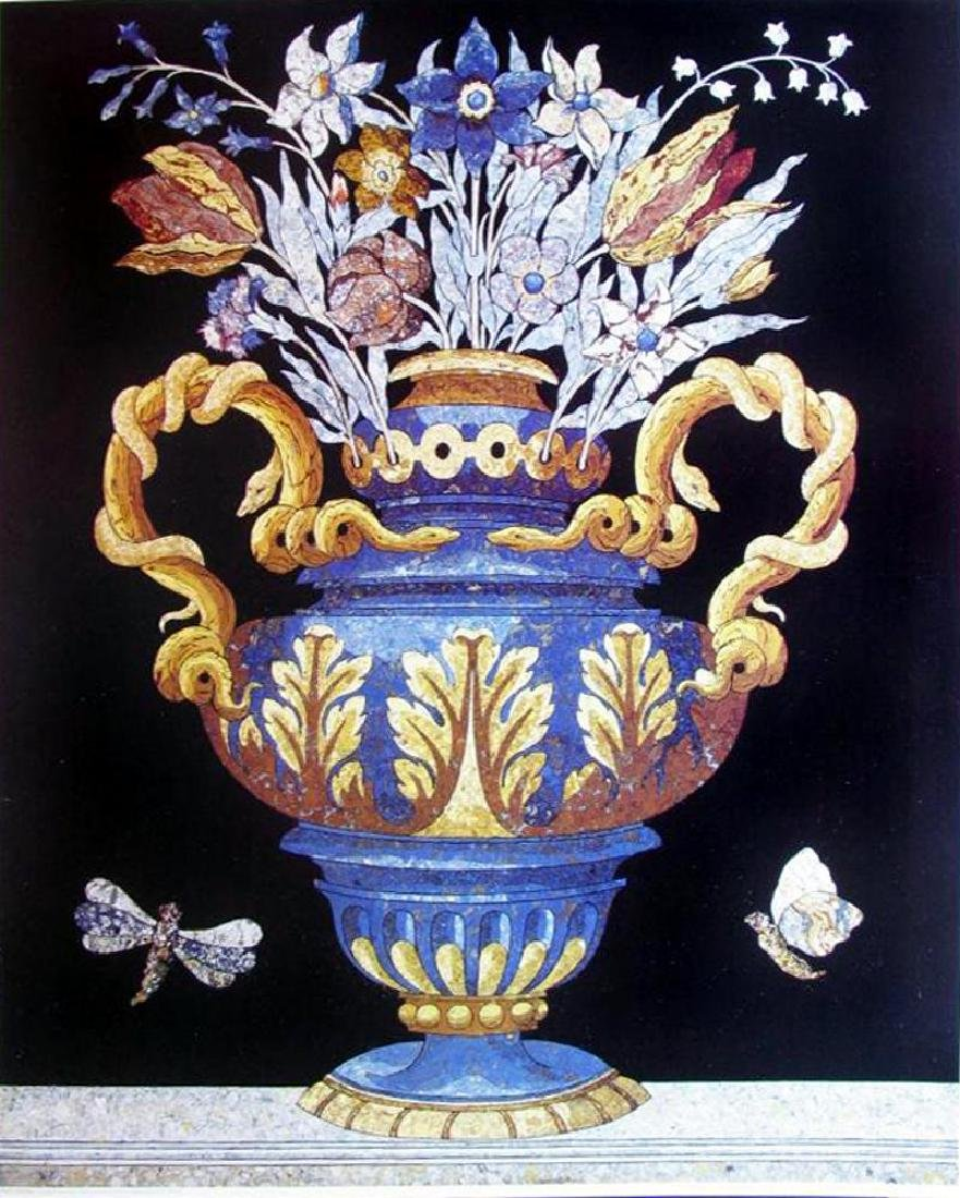 1996 Printed In Spain Vases After Vitruvius From Munich