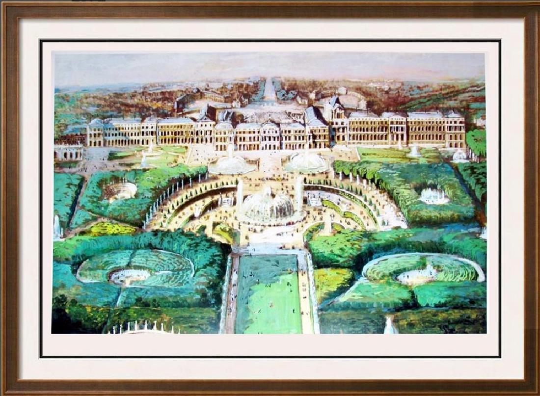 Garden Fountain Landscape