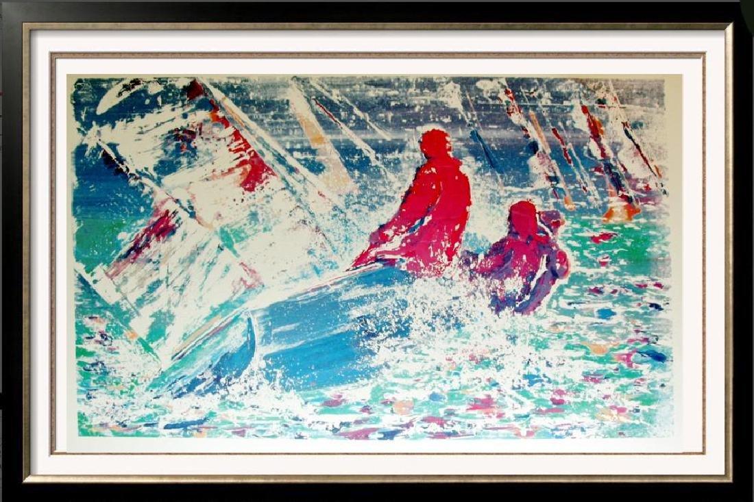 Dan Young 1988 Abstract Sailing