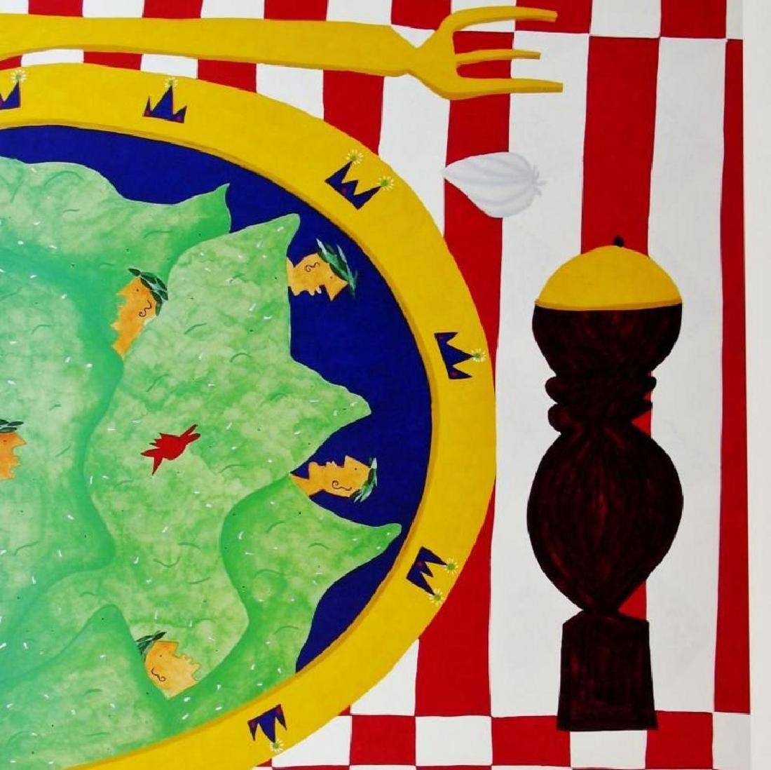 1998 Caesar Salad Hubbard Abstract Pop Whimsical Food - 2