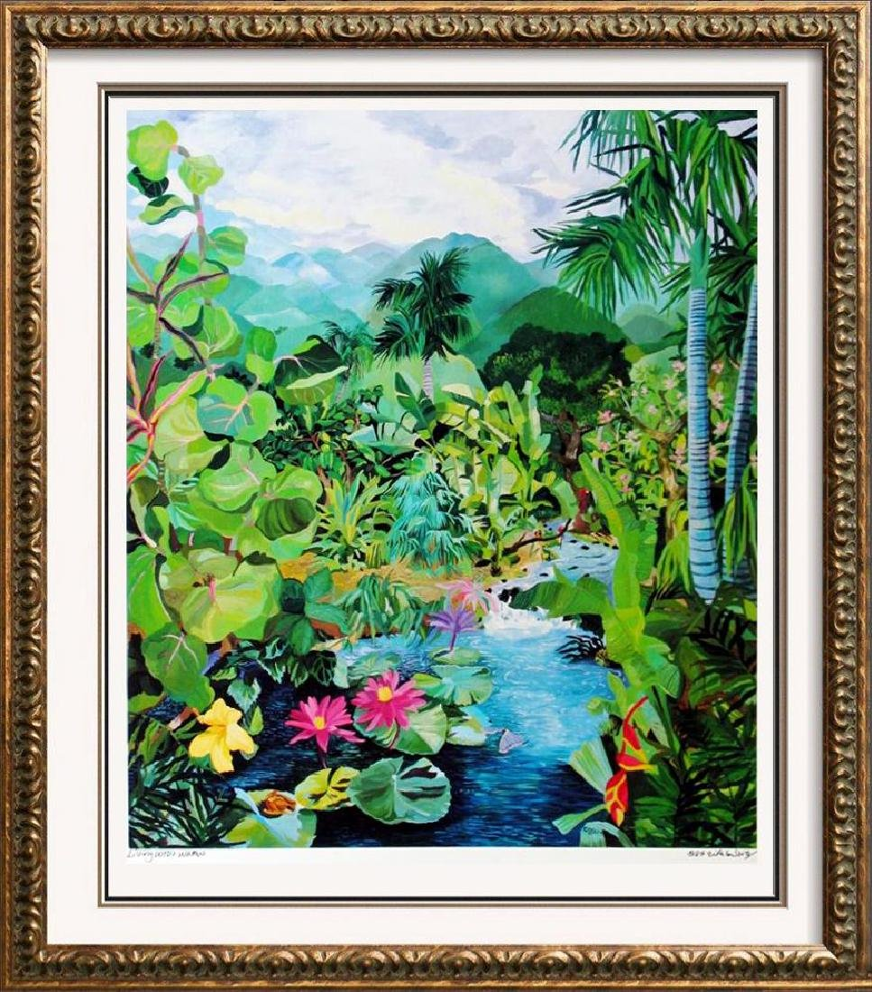 Hand Signed Tropical 1987 Eileen Seitz Jennifer