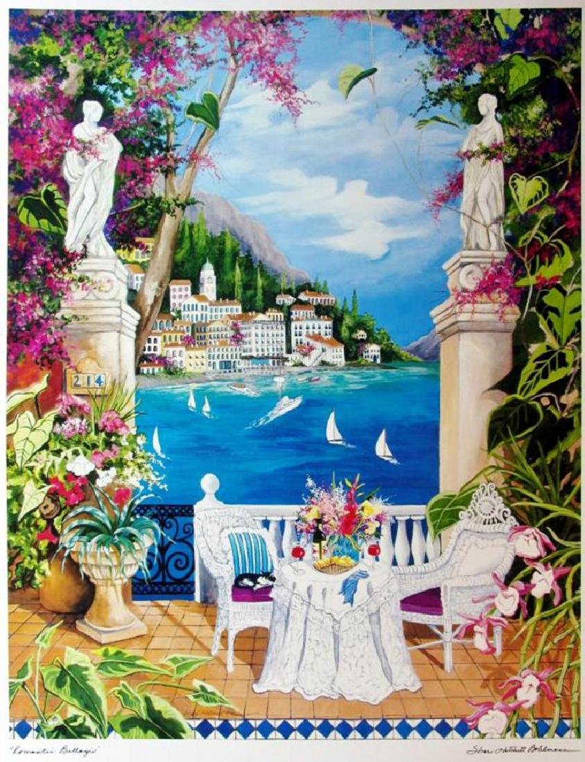 Shari Hatchett Bohemann Signed Tropical View Colorful - 2