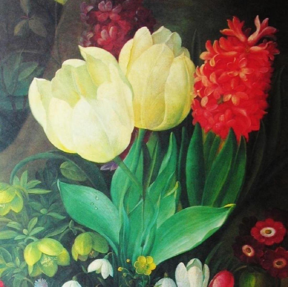 1998 Tulips & Hyacinth Litho On Arches Paper - 3