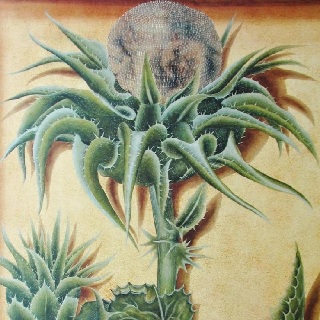 Cactus Sung 1998 Litho On Arches Printed In Canada - 3