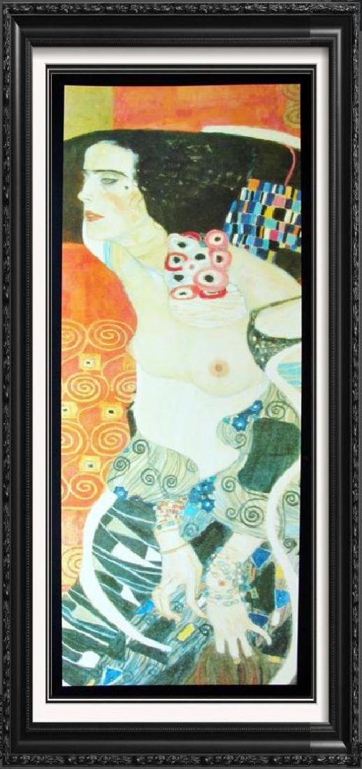 Neo Classical Nude Colorful Large Print