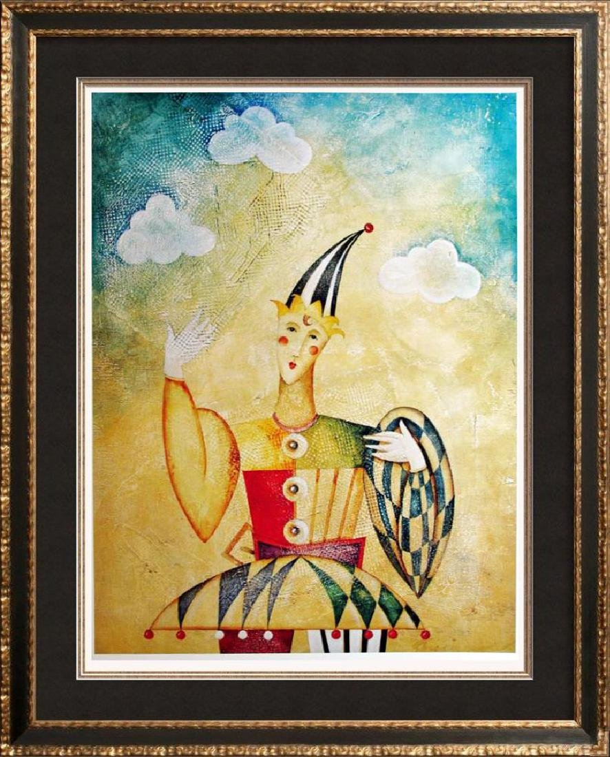 Clown Jester Colorful Great Print