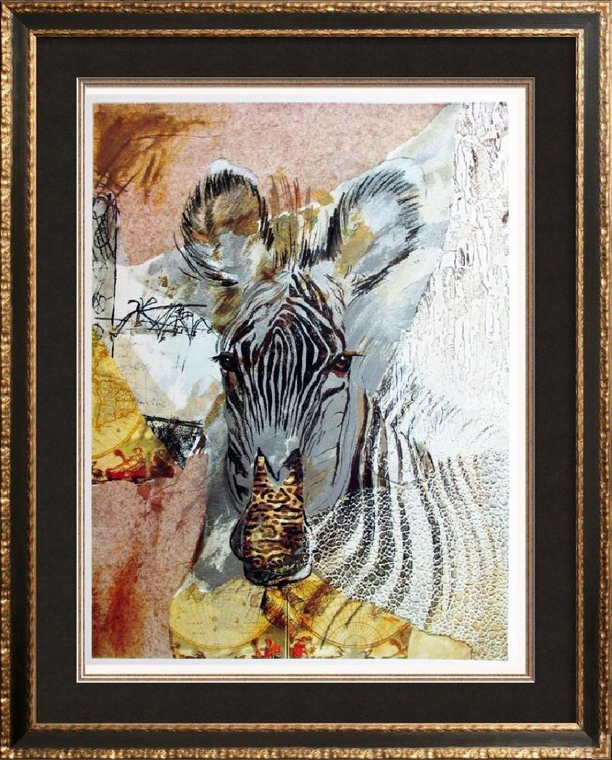Abstract Zebra Modern Beautiful Poster