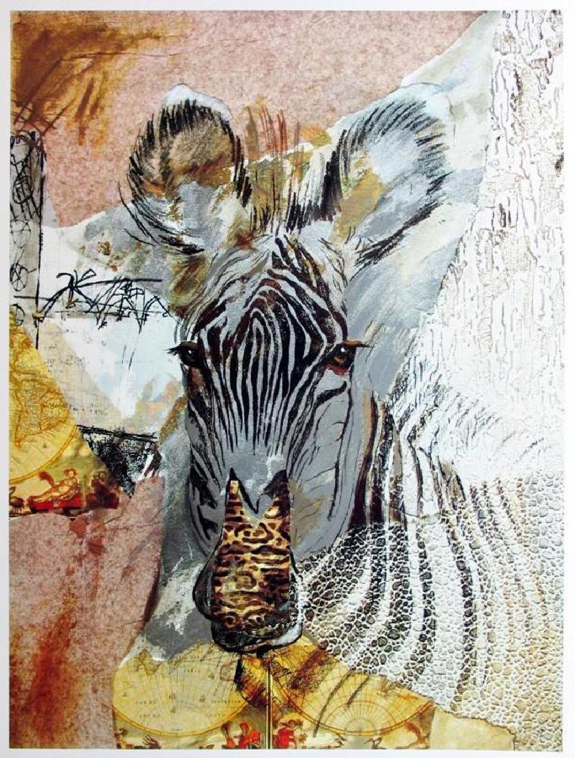 Abstract Zebra Modern Beautiful Poster - 2