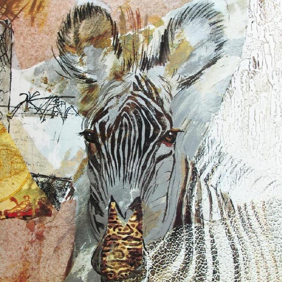 Abstract Zebra Modern Beautiful Poster - 4