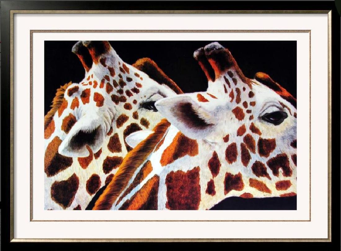 Giraff Abstract Modern Realism Poster