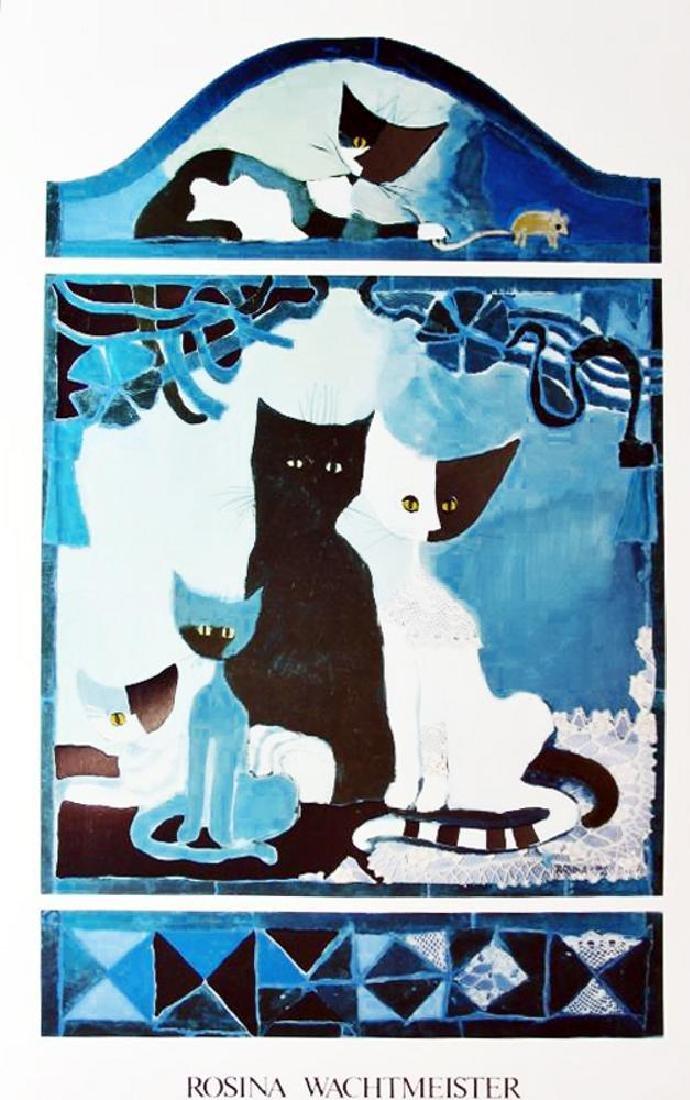 Rosina Wachtmeister Cats Kittens Modern Abstract Art - 2