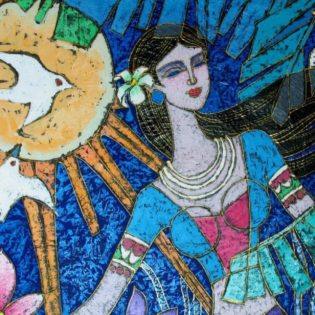 Asian Colorful Art Original Stone ORIG Student TING - 8