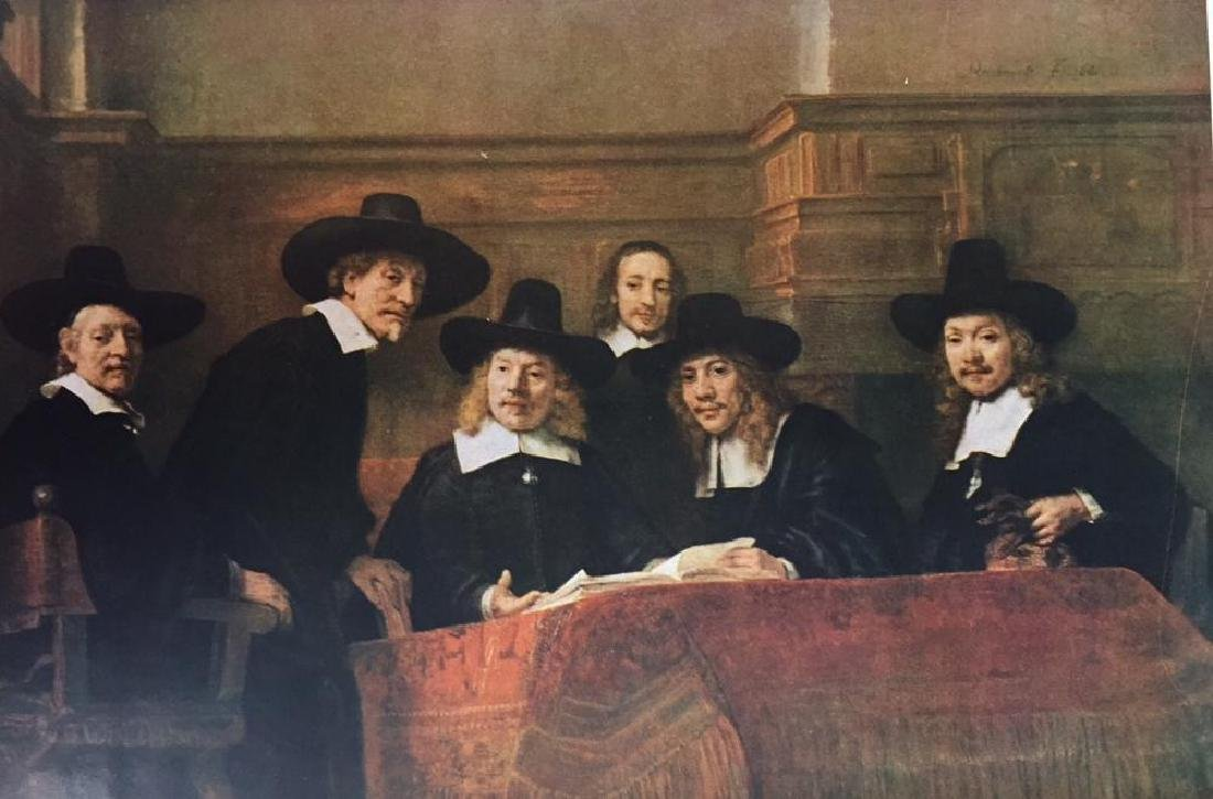Rembrandt The Board of the Clothmaker Guild (The - 2
