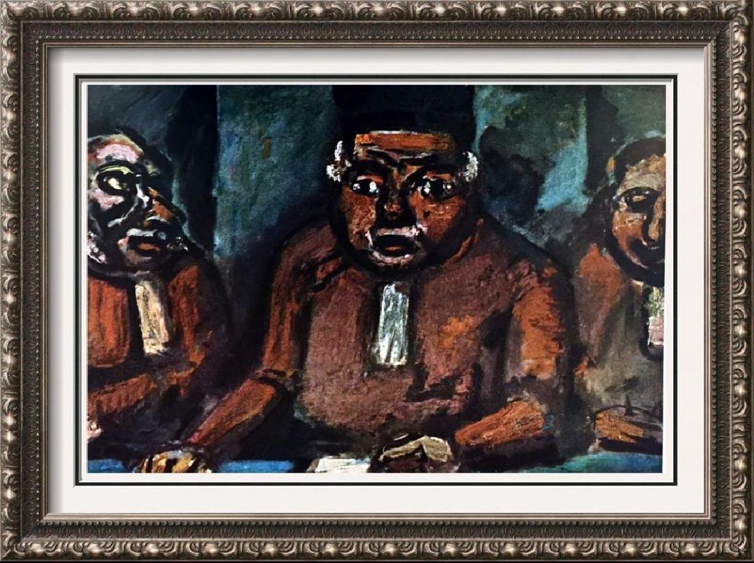 Georges Roualt Three Judges c.1913 Fine Art Print