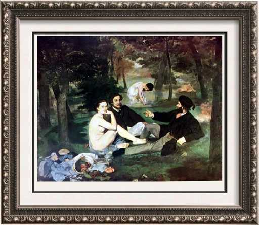 manet luncheon on the grass 1863