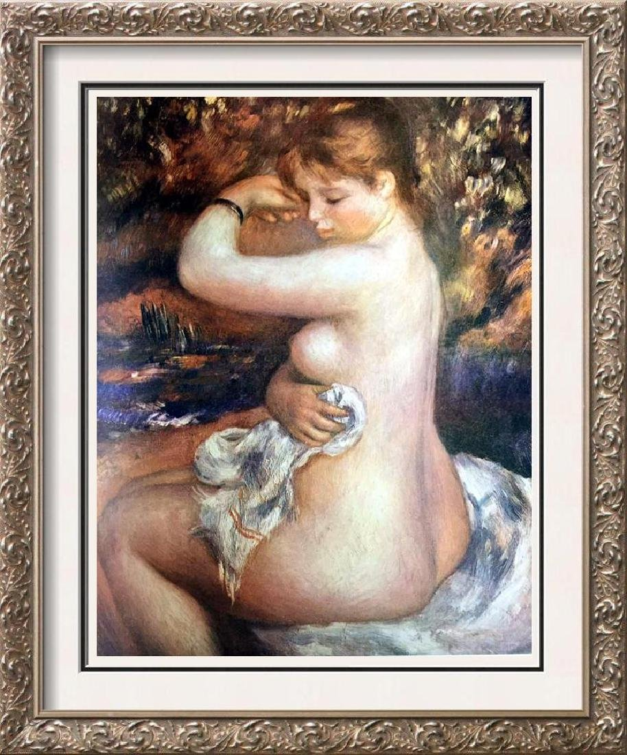 Auguste Renoir After the Bath c.1888 Fine Art Print