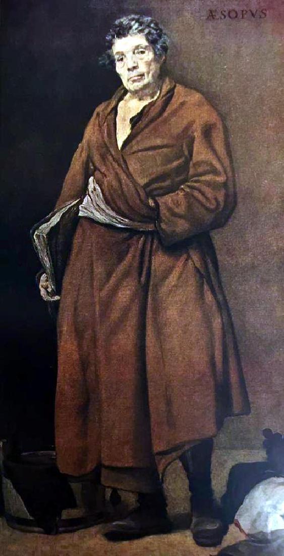 Diego Velazquez Aesop c.1639-40 Fine Art Print - 2