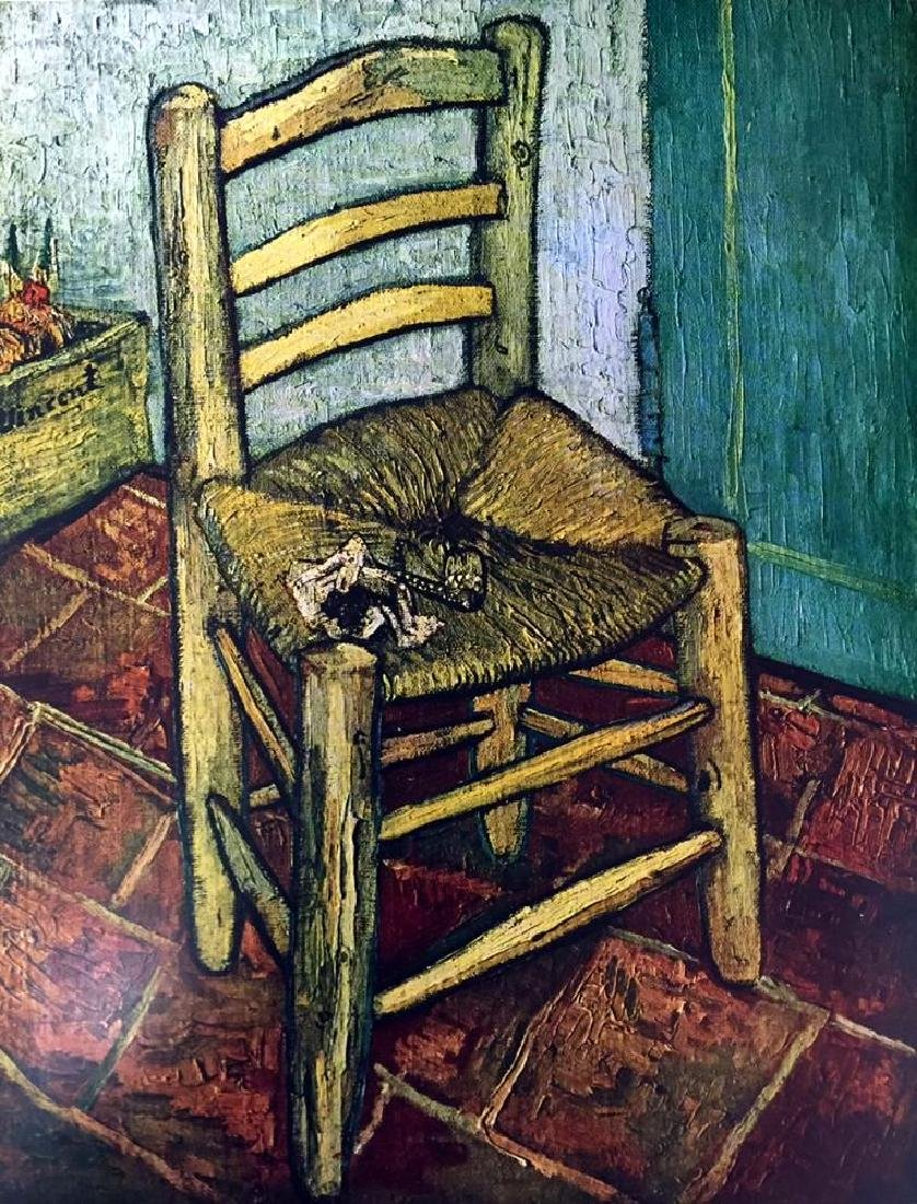 Vincent Van Gogh Van Gogh's Chair c.1889 Fine Art Print - 2