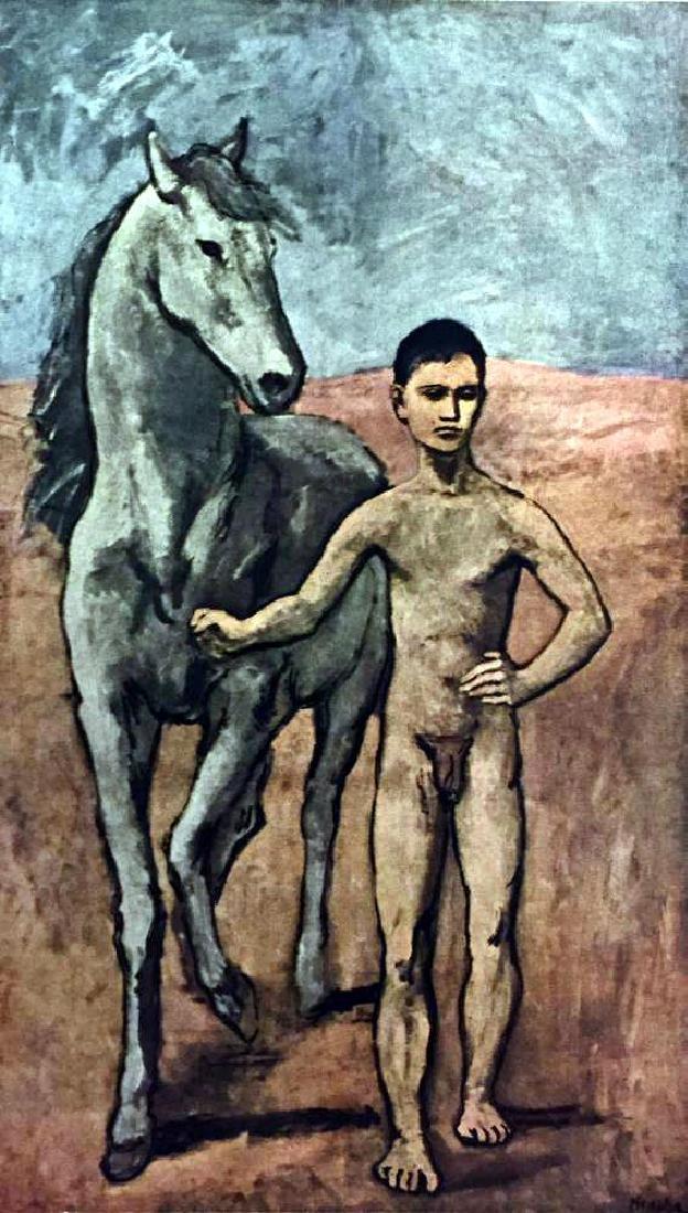 Pablo Picasso Boy Leading a Horse c.1905 Fine Art Print - 2