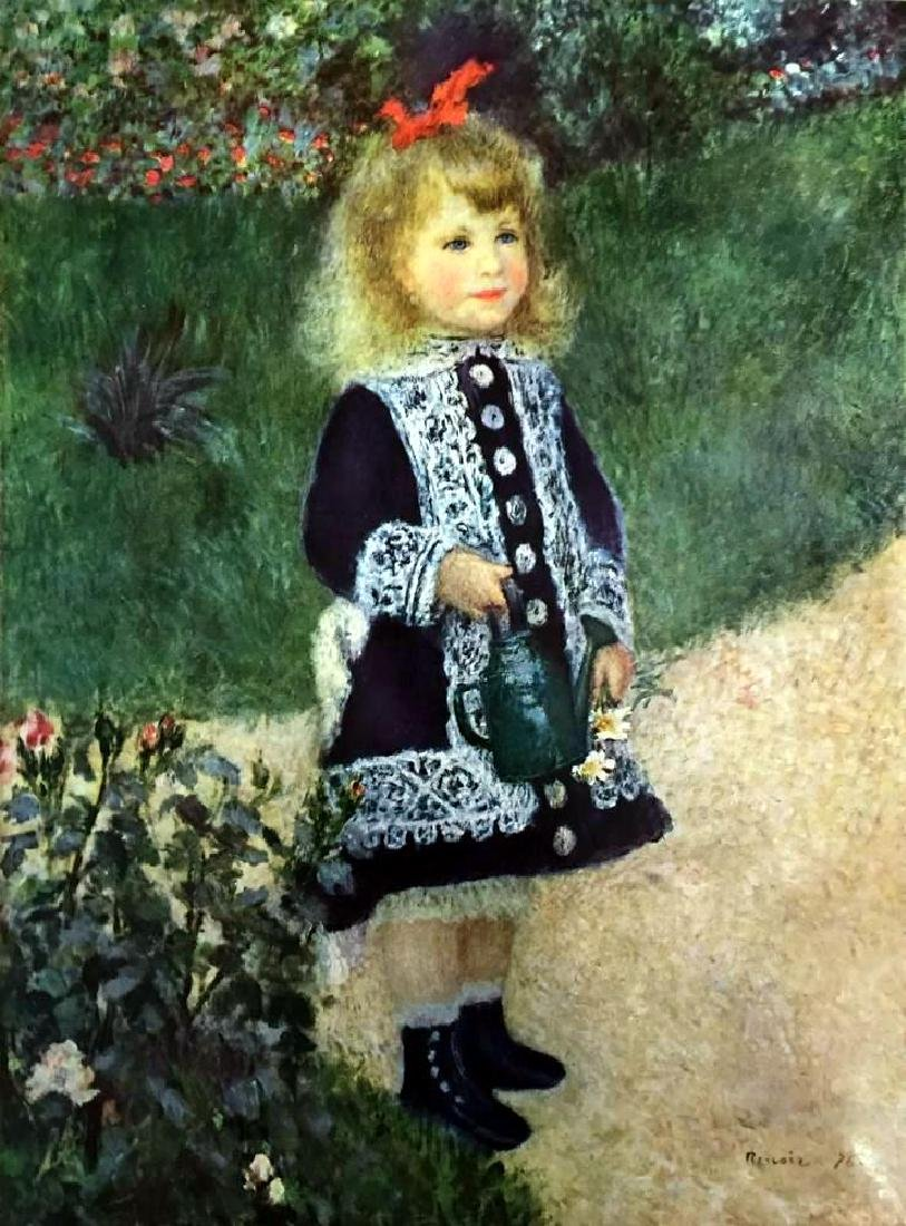 Pierre Auguste Renoir A Girl with a Watering Can c.1876 - 2