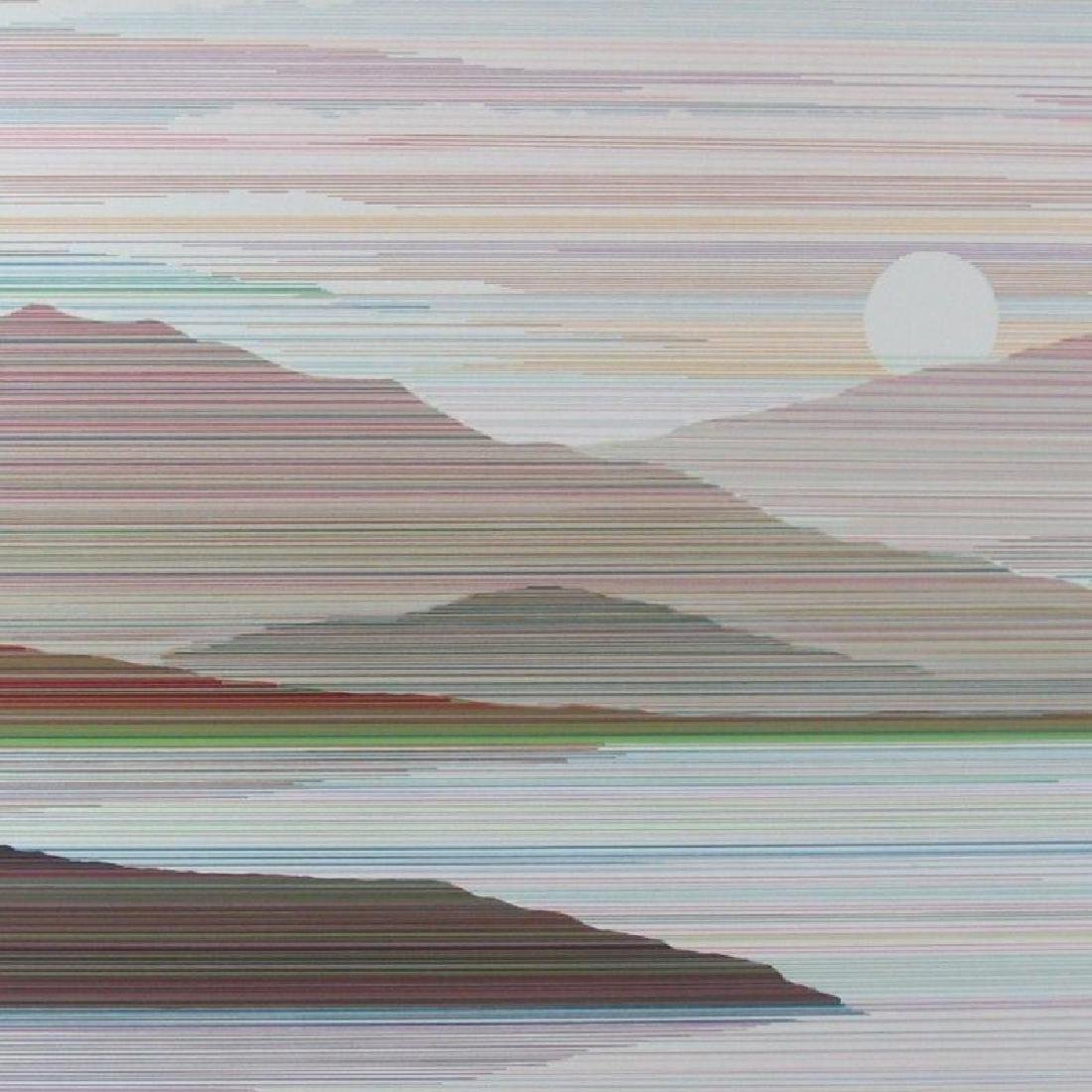 Mountain Modern Abstract Limited Edition Art Sale - 3