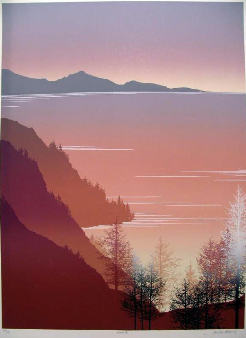 Beautiful Abstract Modern Ltd Ed Art Signed - 2
