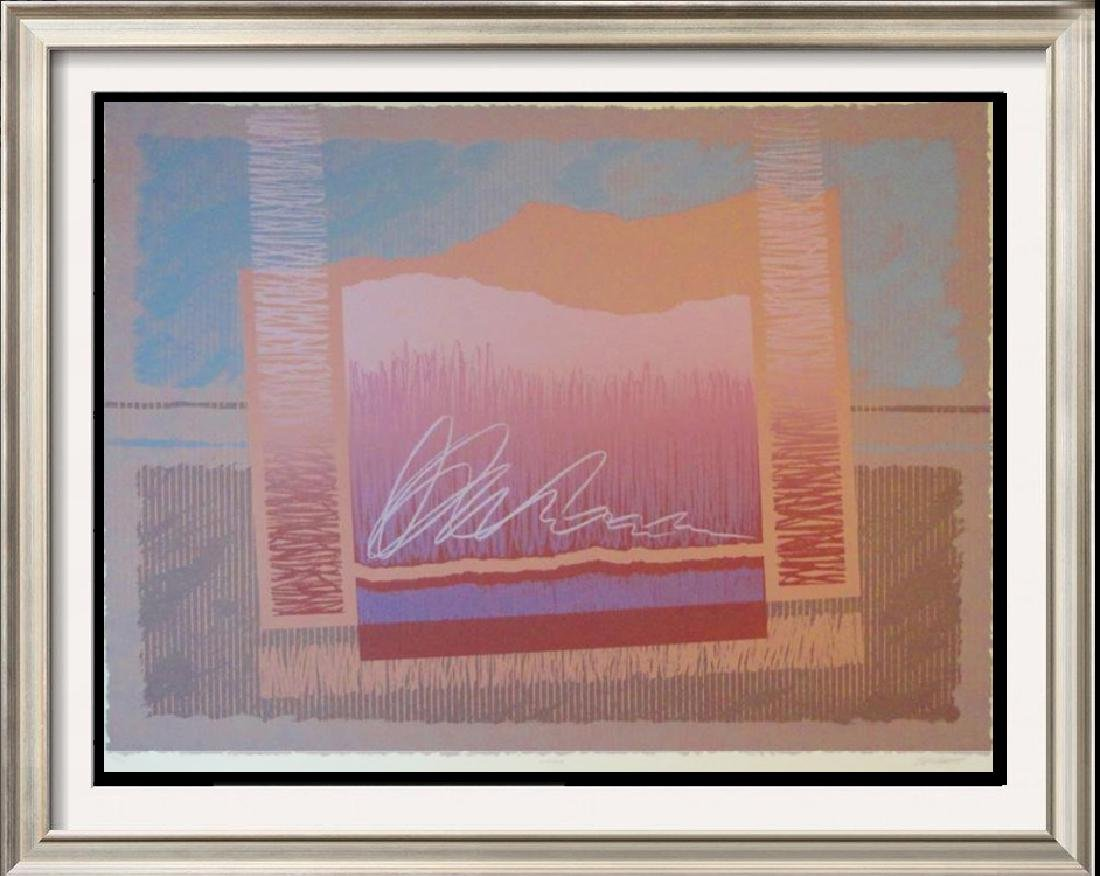 Platt Mirage Abstract Geometric Limited Edition Signed