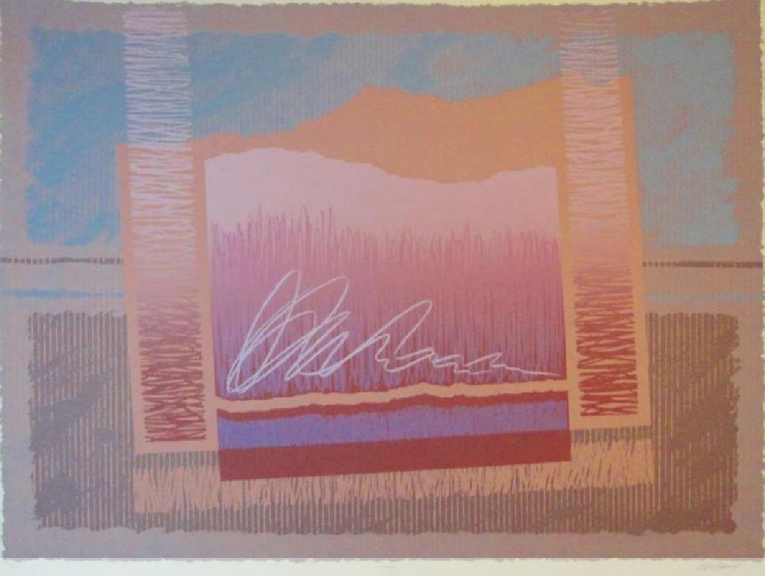 Platt Mirage Abstract Geometric Limited Edition Signed - 2