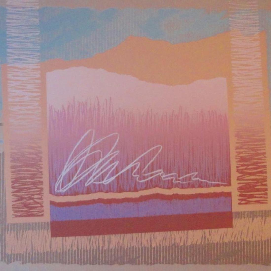 Platt Mirage Abstract Geometric Limited Edition Signed - 4