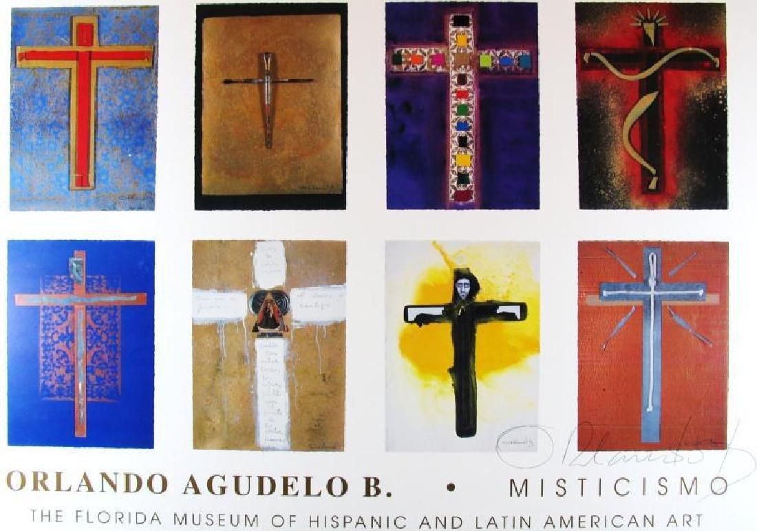 Religious Cross Fine Art Print Orlando Ab Hand Signed - 3