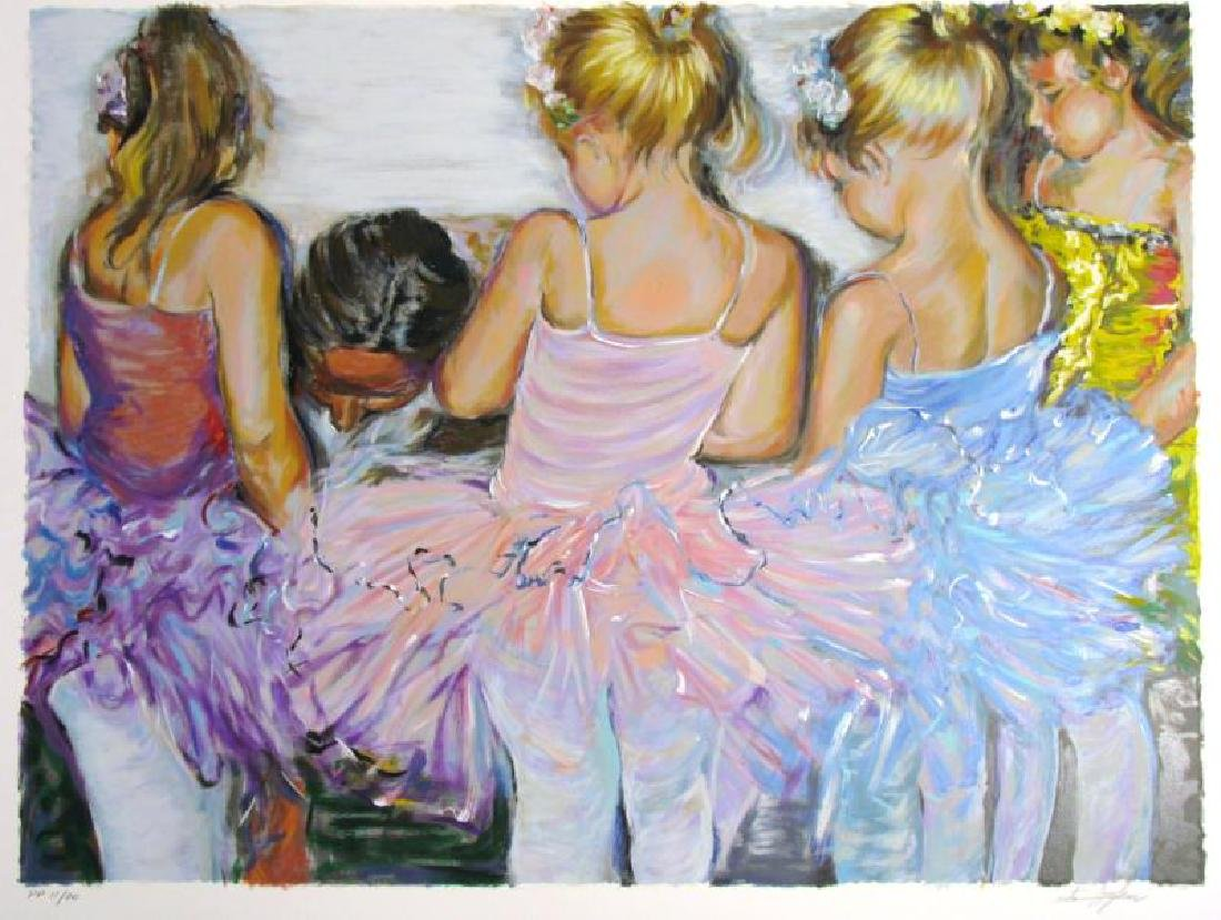 BALLERINA LIMITED EDITION SIGNED LITTLE GIRLS RARE - 2