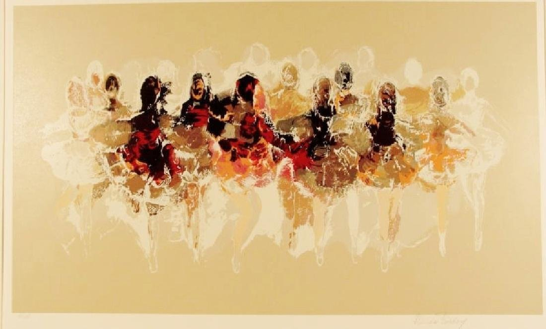 BALLERINA LITHOGRAPH SIGNED LIMITED EDITION - 2