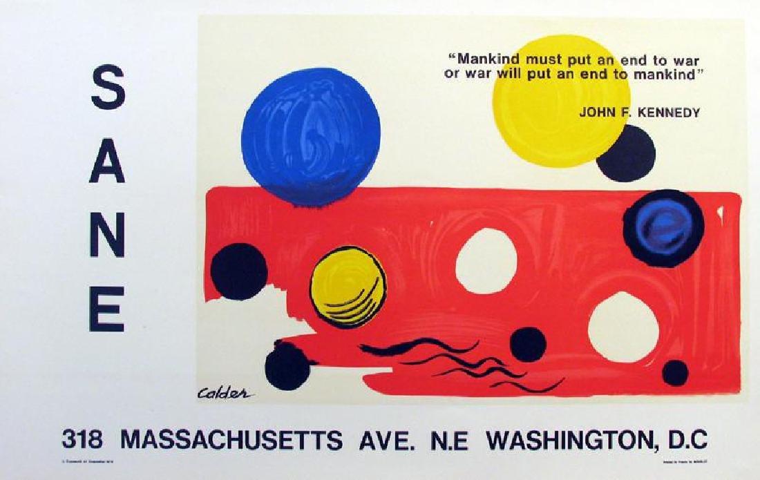 Alexander Calder Original Lithograph Rare Buy - 2