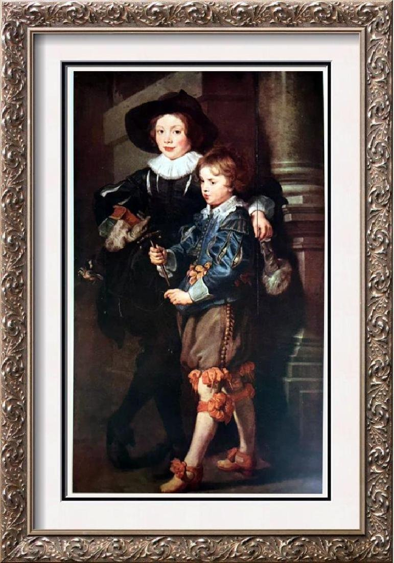Peter Paul Rubens The Artist's Sons, Albert and Nicolas