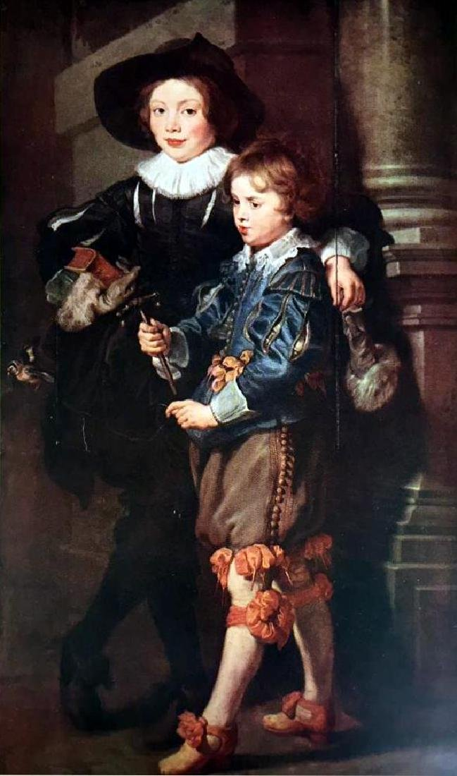 Peter Paul Rubens The Artist's Sons, Albert and Nicolas - 2