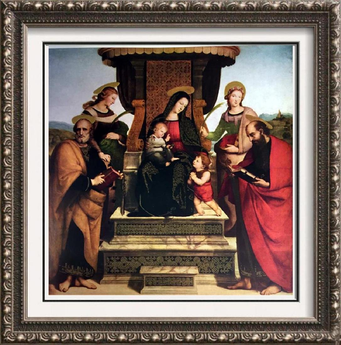 Masterpieces Raphael: The Madonna and Child Enthroned